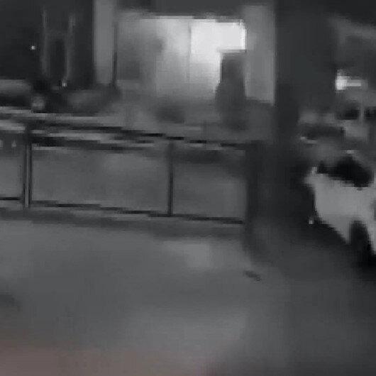 Yolavada lokantadaki patlama anı: Yoldan geçen vatandaş saniyelerle kurtuldu