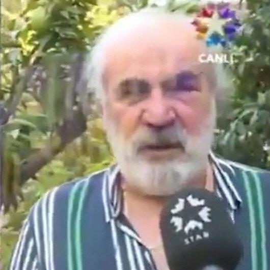 Halil Sezainin dövdüğü yaşlı adam konuştu: Kalbim tıkalıydı, yerdeyken bile vurdu