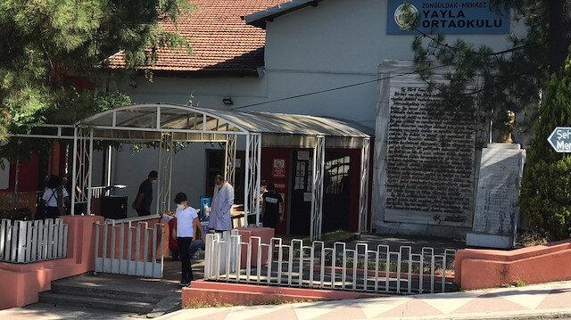 Zonguldak'ta öğrencide koronavirüs çıktı: Sınıftaki 24 öğrenci ve 2 öğretmen karantinaya alındı