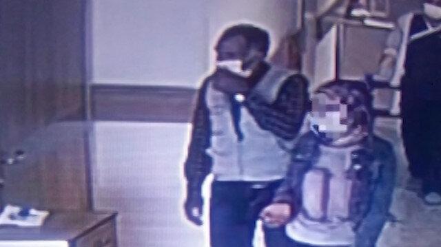 Kars'ta koronavirüs testi pozitif çıkan kız ile temaslı babasının karantinadan kaçış an kamerada