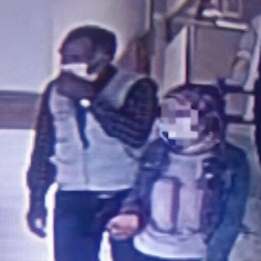 Karsta koronavirüs testi pozitif çıkan kız ile temaslı babasının karantinadan kaçış an kamerada