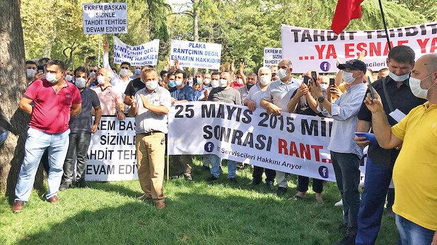 İmamoğlu sözünü tutmadı: Servisçiler isyan etti