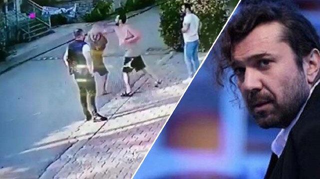 Halil Sezai'nin yaşlı adamı öldüresiye dövdüğü görüntüler ortaya çıktı