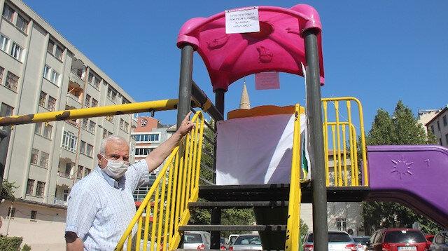 Vakaların hızla yükseldiği Kayseri'de çocuk parkları bir ay süreyle kapatıldı