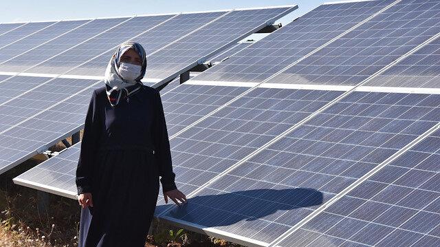 Eşinin hayalini 20 yıl sonra gerçekleştirdi: 300 evin elektriğini üretiyor