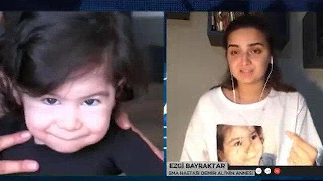 SMA'lı Demir Ali'nin annesinden Sağlık Bakanı Koca'ya çağrı