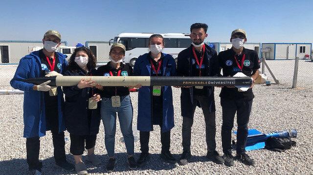 PAÜ'nün roket takımından TEKNOFEST 2020'de büyük başarı: İki kategoride birinciliği göğüsledi