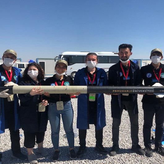 PAÜnün roket takımından TEKNOFEST 2020de büyük başarı: İki kategoride birinciliği göğüsledi