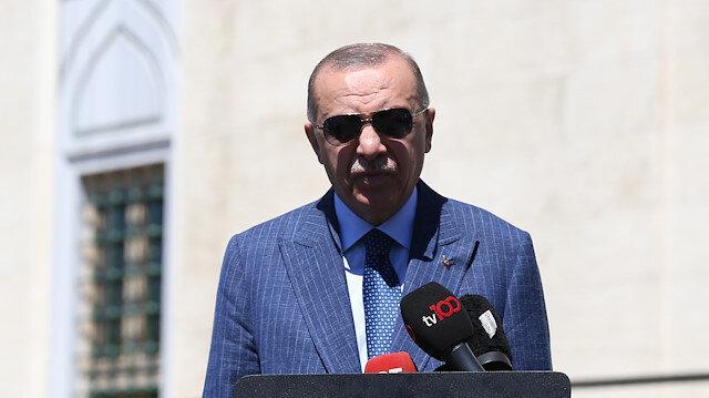 Cumhurbaşkanı Erdoğan'dan Cuma çıkışı açıklama: Sarrac'ın istifa kararı bizi üzdü