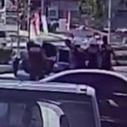 Esenyurtta genç kadını polisler ölümden son anda kurtardı