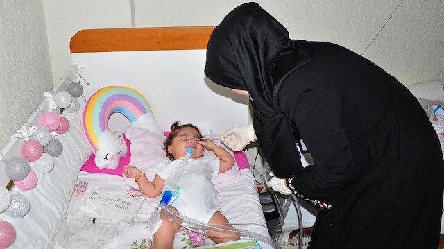 SMA hastası Rümeysa bebek için süre daralıyor: Aile yardım bekliyor