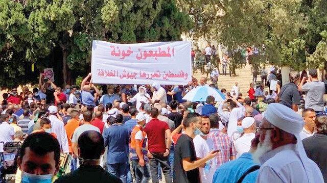 Filistin, Kosova ve Bahreyn'de İsrail tepkisi: İhanete üçlü isyan