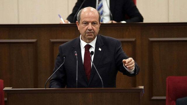 KKTC Başbakanı Tatar'dan sert tepki: Birileri memnun olsun diye Türkiye'ye saldırıyor!
