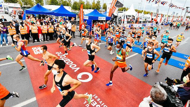 Maske ve mesafeli maratonun kazananları belli oldu