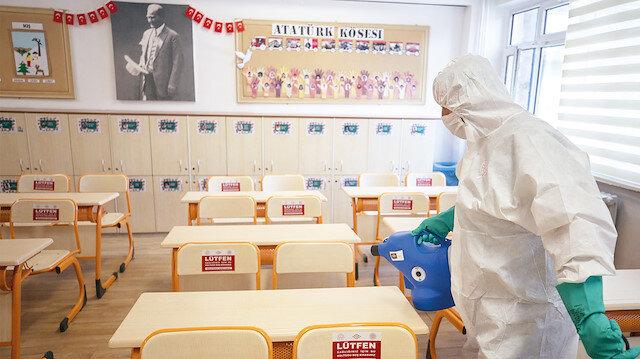 Okula merhaba: Türkiye genelinde okullar yaklaşık 6,5 ay sonra olağanüstü tedbirler altında açılıyor