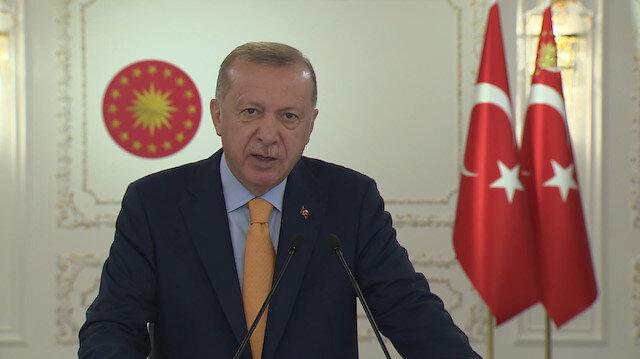 Cumhurbaşkanı Erdoğan'dan BM'ye mesaj: 7 milyar insanın kaderi 5 ülkenin insafına bırakılamaz