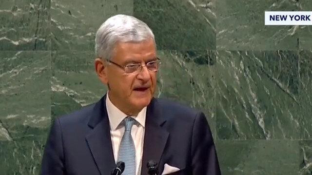 BM'nin ilk Türk Genel Kurul Başkanı Volkan Bozkır'dan önemli açıklamalar