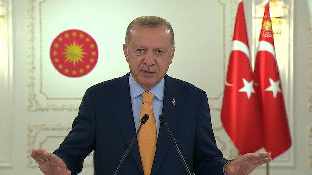 Cumhurbaşkanı Erdoğan'ın İsrail Büyükelçisine salon terk ettiren konuşması: Kudüs'te...