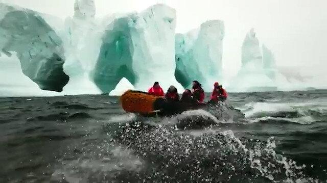 'Gezegenin Kara Kutusu: Antarktika' belgeseli gün sayıyor
