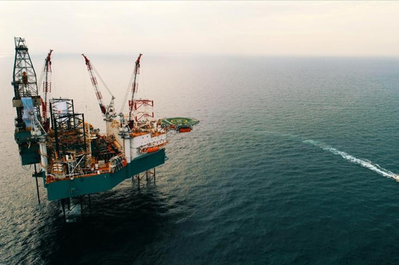 Keşfin bulunduğu alana kurulacak platformla gazın 2023'e kadar karaya çıkarılması planlanıyor.