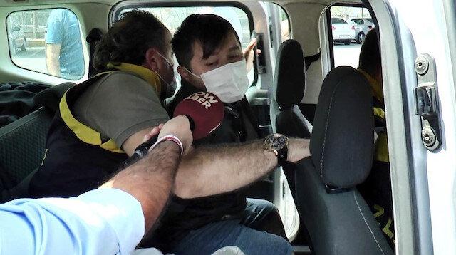Tuzla'da polisleri tehdit eden eşkıya adliyeye sevk edilirken yine tehdit etti:  Görüşeceğiz
