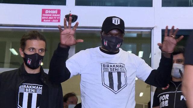 Vincent Aboubakar Beşiktaş için İstanbul'a geldi