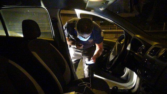 Polisten kaçarken camdan attılar: Poşetten 2.5 kilo bonzai çıktı