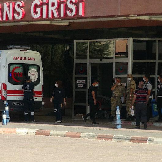 Kilis'te askeri araç devrildi: 5'i asker 16 kişi yaralandı