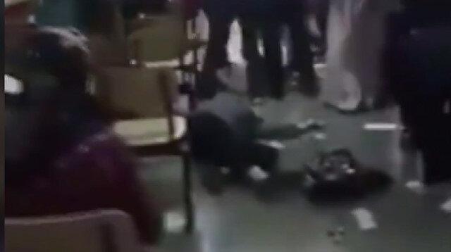 Çapa'da dehşet: Maskesini doğru takması için uyaran sağlık çalışanı feci şekilde darp edildi