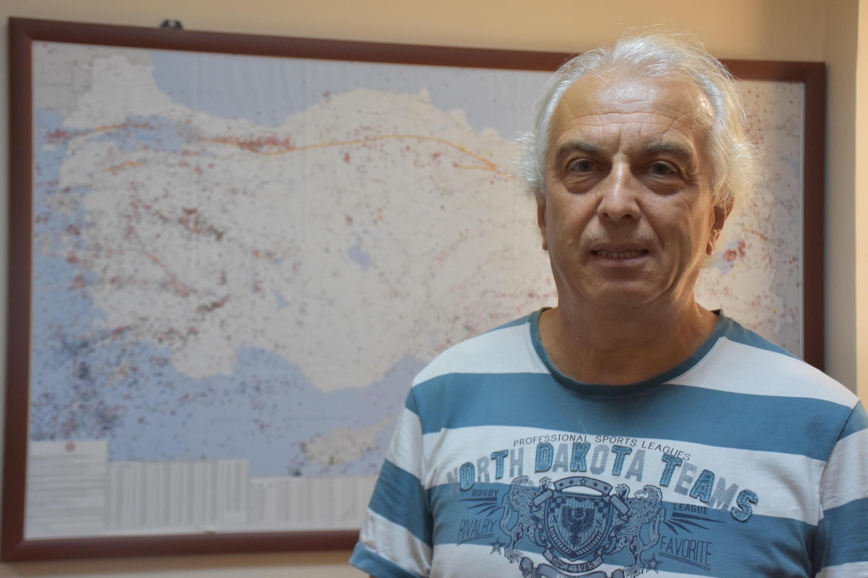 DAUM Yönetim Kurulu üyelerinden Jeofizik Mühendisliği Bölümü Öğretim Üyesi Dr. Mehmet Utku.