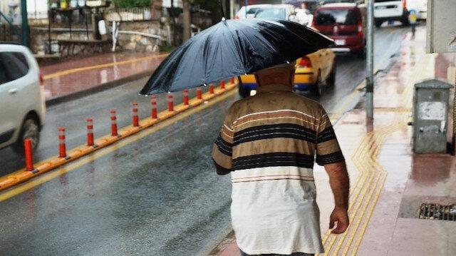 Meteoroloji son tahminlerini açıkladı: 36 ile yağış uyarısı