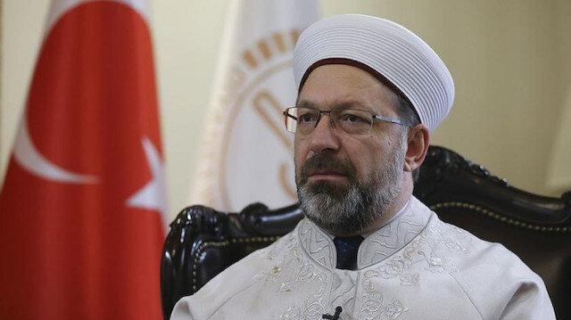 Diyanet İşleri Başkanı Erbaş: Kur'an kursunda şiddet olayına ilişkin soruşturma talimatı verdim