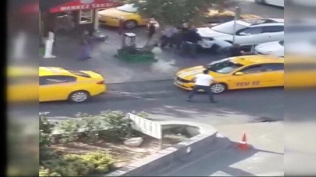Esenyurt'ta 2 taksicinin öldüğü silahlı kavganın görüntüleri ortaya çıktı