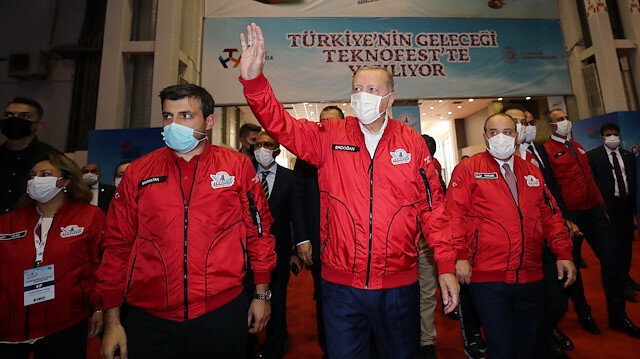 Cumhurbaşkanı Erdoğan Teknofest'te: İHA alanında bugün dünyanın sayılı ülkeleri arasına girdik