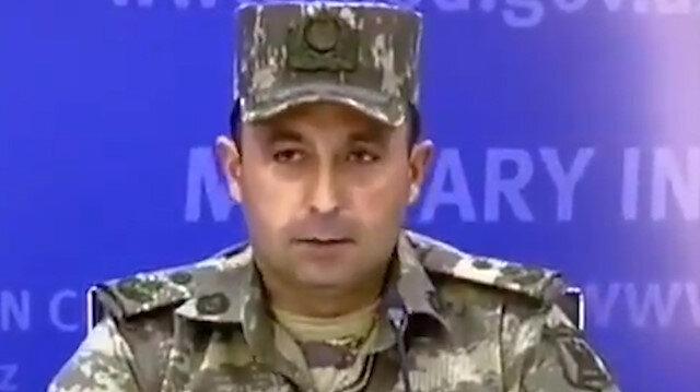 Azerbaycan Ordu Sözcüsü Ermenistan'dan kurtarılan bölgeleri açıkladı