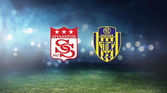Sivasspor-Ankaragücü (CANLI)
