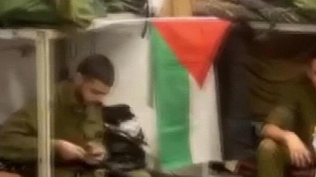 Odasına Filistin bayrağı asan İsrailli asker ordudan atıldı