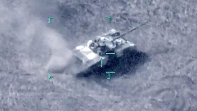 Azerbaycan ordusu, Ermenistan ordusuna ait 2 tankı daha nokta atışıyla vurdu
