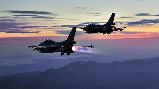 Irak'ın kuzeyinde 4 PKK'lı terörist hava harekatlarıyla etkisiz hale getirildi