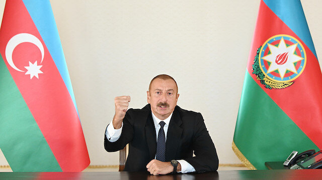Azerbaycan Cumhurbaşkanı Aliyev: Biz hak yolundayız Karabağ bizimdir
