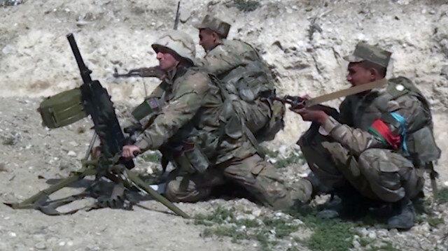Azerbaycan ordusu bazı yüksekliklerde kontrolü ele geçirdi