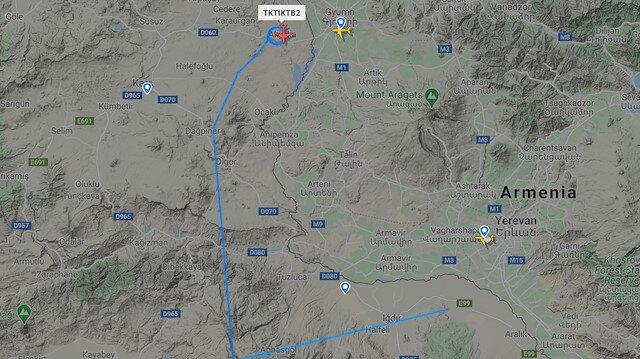 Türk İHA'sı Ermenistan'ın başkenti Erivan'a 25 kilometre yaklaştı