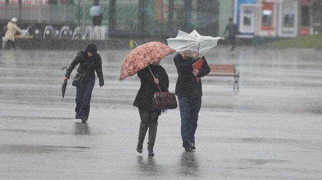 Meteoroloji uyardı: Dört ilde sağanak yağış bekleniyor