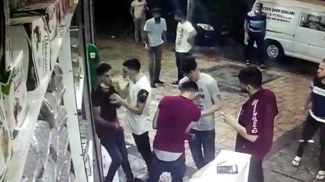 Adana'da bıçaklı gasbı böyle izlediler