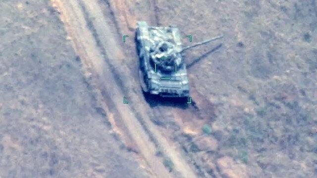 Azerbaycan ordusu, Ermenistan'a ait 2 tankı daha vurdu