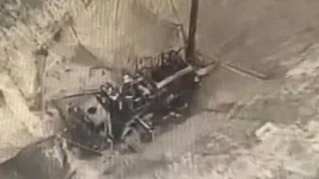 Azerbaycan'a ait kamikaze droneleri Ermenilerin askeri araçlarını böyle imha etti