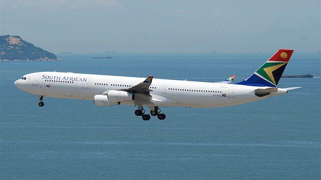 Güney Afrika Hava Yolları tüm uçuşlarını durdurdu