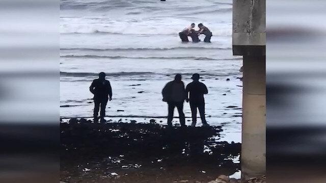 Giresun'da intihara kalkışan kişiyi bekçi ve polis ekipleri kurtardı