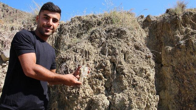 Erzurum'da bu köyün taşı toprağı altın