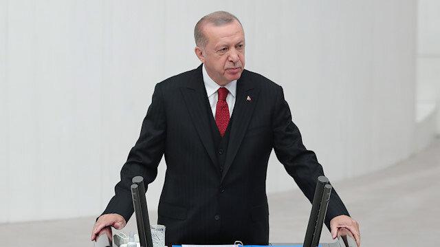 Cumhurbaşkanı Erdoğan: Her kim 'Türkiye'nin Suriye'de ne işi var' diyorsa ya bölgeyi ve tarihini bilmiyordur ya da kafasında başka hesaplar yapıyordur
